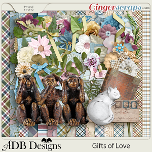 Gifts of Love Page Kit