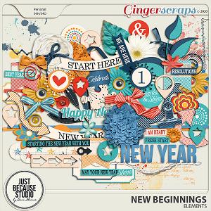 New Beginnings Elements by JB Studio