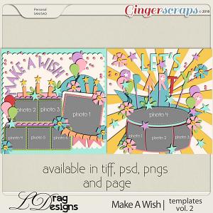Make A Wish: Templates Vol. 2 by LDrag Designs