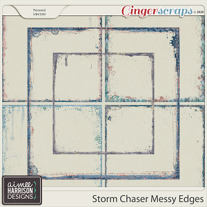 Storm Chaser Messy Edges by Aimee Harrison