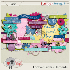 Forever Sisters Element Pack by Luv Ewe Designs