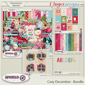 Cozy December - Bundle by Aprilisa Designs