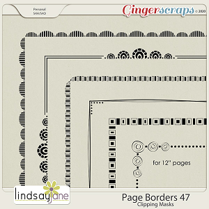 Page Borders 47 by Lindsay Jane