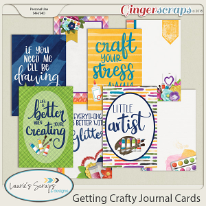 Getting Crafty Journal Cards