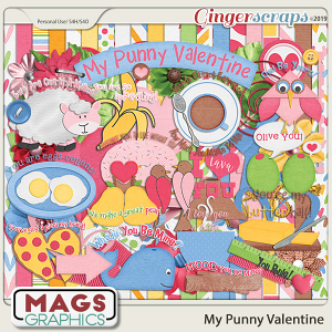 My Punny Valentine KIT by MagsGraphics