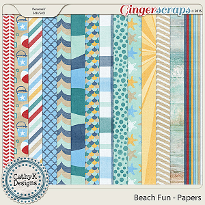 Beach Fun - Papers