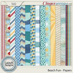 Beach Fun - Papers
