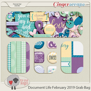 Document Life February 2019 Grab Bag by Luv Ewe Designs