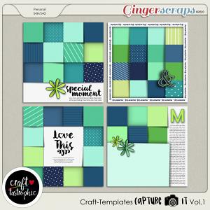 Craft ❤ Templates Capture It Vol. 1