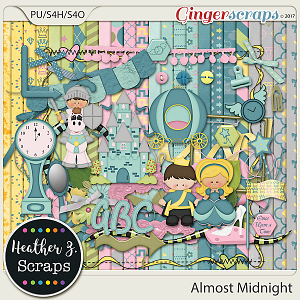 Almost Midnight KIT by Heather Z Scraps