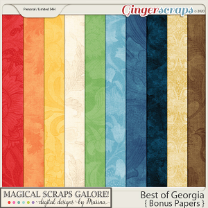 Best of Georgia (bonus papers)