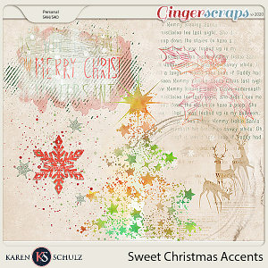 Sweet Christmas Accents by Snickerdoodle Designs and Linda Cumberland Designs