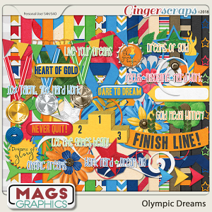 Olympic Dreams KIT by MagsGraphics