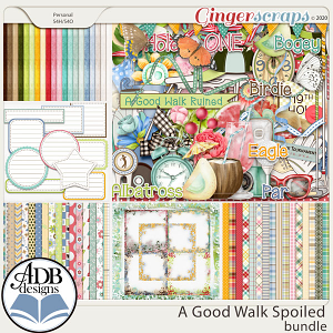 A Good Walk Spoiled Bundle by ADB Designs