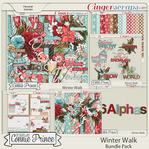 Winter Walk - Bundle by Connie Prince