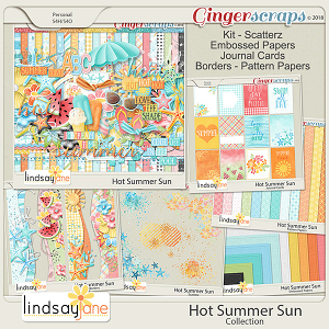 Hot Summer Sun Collection by Lindsay Jane