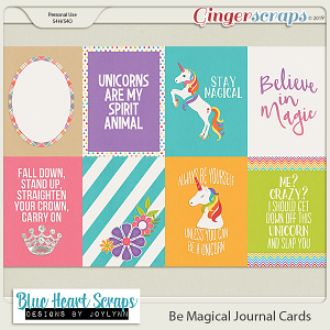 Be Magical Journal Card Pack