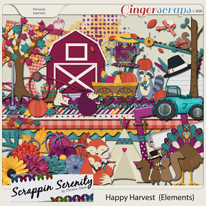 Happy Harvest Elements