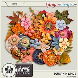 Pumpkin Spice Flowers by JB Studio and Aimee Harrison Designs