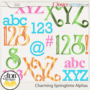 Charming Springtime Alphas by ADB Designs