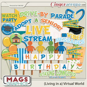 Virtual World CELEBRATION PACK by MagsGraphics
