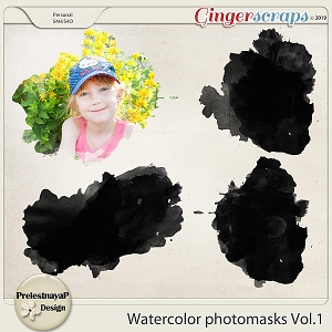 Watercolor photomasks Vol.1