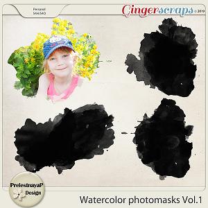 Watercolor photomasks Vol.1