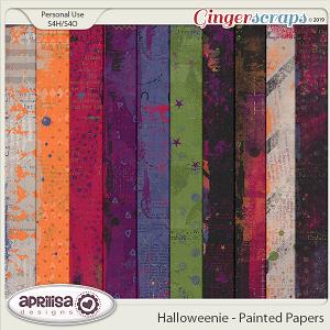 Halloweenie - Painted Papers by Aprilisa Designs
