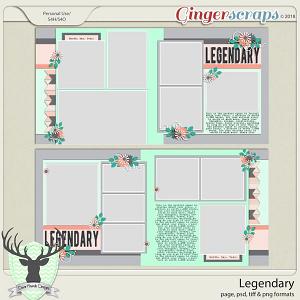 Legendary by Dear Friends Designs