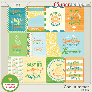 Cool summer - cards