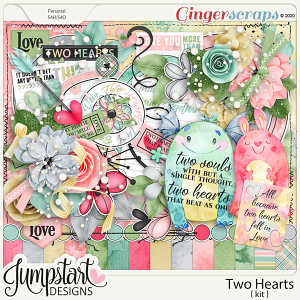 Two Hearts {Kit} by Jumpstart Designs