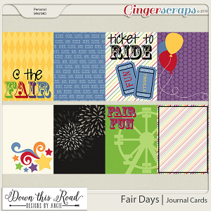 Fair Days | Journal Cards