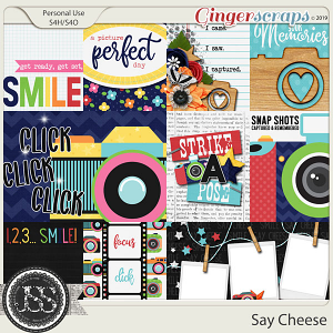 Say Cheese Pocket Scrap Cards