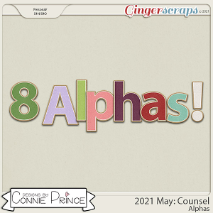 2021 May: Counsel Bonus Alphas by North Meets South Studios