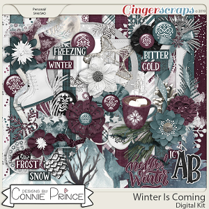 Winter Is Coming - Kit by Connie Prince
