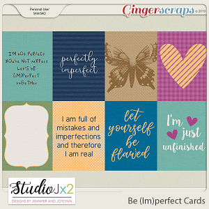 Be (Im)Perfect Journal Cards