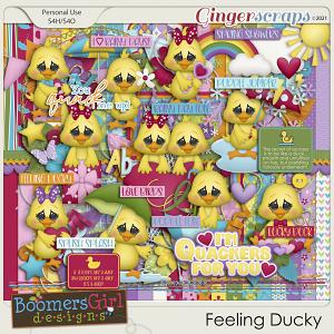 Feeling Ducky by BoomersGirl Designs