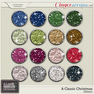 A Classic Christmas Glitters by Aimee Harrison