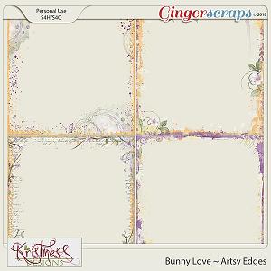 Bunny Love Artsy Edges