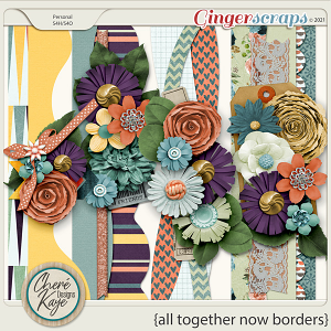 All Together Now Borders by Chere Kaye Designs