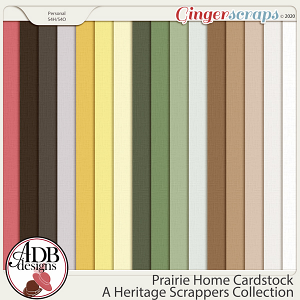 Prairie Home Cardstock Solids by ADB Designs