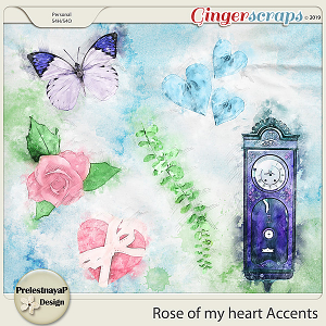 Rose of my heart Accents