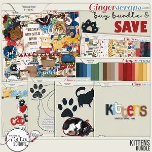 Kittens - Bundle - by Neia Scraps
