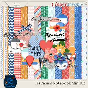Traveler's Notebook Mini Kit by Miss Fish