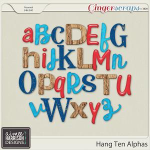 Hang Ten Alpha Sets by Aimee Harrison
