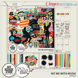 Hit Me With Music Bundle by JB Studio and Neia Scraps