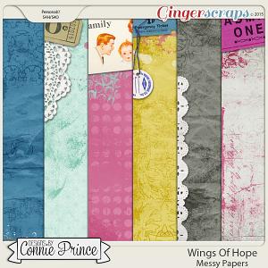 Retiring Soon - Wings Of Hope - Messy Papers