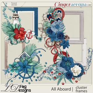 All Aboard: Cluster Frames by LDragDesigns