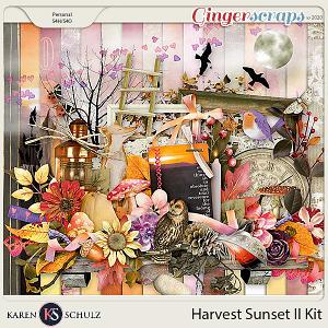 Harvest Sunset II Kit by Karen Schulz
