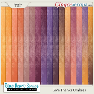 Give Thanks Ombre Paper Pack